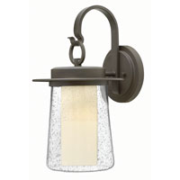 Hinkley Lighting Riley 1 Light Outdoor Wall in Oil Rubbed Bronze 2014OZ-GU24