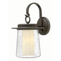 Hinkley Lighting Riley 1 Light Outdoor Wall in Oil Rubbed Bronze 2015OZ-GU24