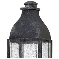 Hinkley 2041GS Bingham 3 Light 23 inch Greystone Outdoor Post Mount in Incandescent, Heritage alternative photo thumbnail