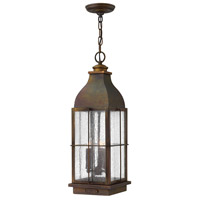 Hinkley 2042SN-LL Heritage Bingham LED 8 inch Sienna Outdoor Hanging Light