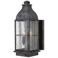 Hinkley 2044GS-LL Heritage Bingham LED 16 inch Greystone Outdoor Wall Mount Medium