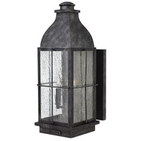 Hinkley 2045GS-LL Bingham LED 21 inch Greystone Outdoor Wall Mount, Heritage