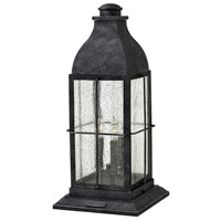 Hinkley 2047GS-LL Heritage Bingham LED 21 inch Greystone Outdoor Pier Mount
