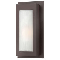 Titan 1 Light 14 inch Buckeye Bronze Outdoor Wall Mount in Incandescent