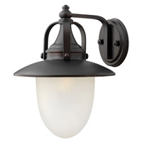 Hinkley 2084SB Pembrook 1 Light 16 inch Spanish Bronze Outdoor Wall Lantern in Incandescent