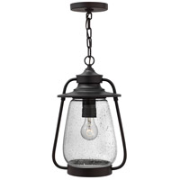Hinkley 2092SB Calistoga 1 Light 10 inch Spanish Bronze Outdoor Hanging Lantern in Incandescent photo thumbnail