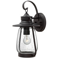 Hinkley 2094SB Calistoga 1 Light 18 inch Spanish Bronze Outdoor Wall Mount in Incandescent