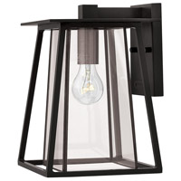 Hinkley 2100BK Walker 1 Light 12 inch Black Outdoor Wall Mount