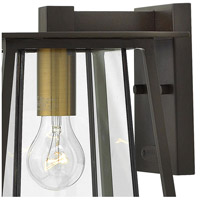 Hinkley 2100KZ Walker 1 Light 12 inch Buckeye Bronze Outdoor Wall Mount, Clear Glass alternative photo thumbnail
