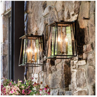 Hinkley 2105KZ Walker 3 Light 18 inch Buckeye Bronze Outdoor Wall Mount, Clear Glass alternative photo thumbnail