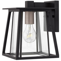 Hinkley 2106BK Walker 1 Light 10 inch Black Outdoor Mini Wall Mount