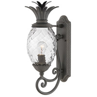 Hinkley 2120MB Plantation 1 Light 21 inch Museum Black Outdoor Wall Mount