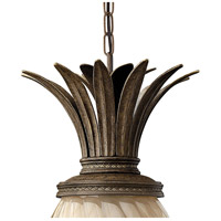 Hinkley 2122PZ Plantation 1 Light 13 inch Pearl Bronze Outdoor Hanging Light in Incandescent alternative photo thumbnail