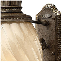 Hinkley 2124PZ Plantation 1 Light 28 inch Pearl Bronze Outdoor Wall Mount in Incandescent alternative photo thumbnail