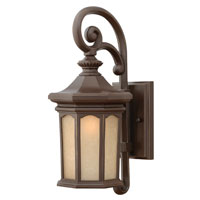 Hinkley Lighting Rowe Park 1 Light Outdoor Wall Lantern in Oil Rubbed Bronze 2130OZ-ES