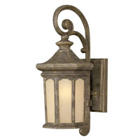 Hinkley Lighting Rowe Park 1 Light Outdoor Wall Lantern in Pearl Bronze 2130PZ-LED
