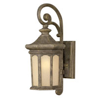 Hinkley Lighting Rowe Park 1 Light Outdoor Wall Lantern in Pearl Bronze 2130PZ photo thumbnail