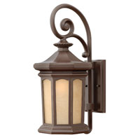 Hinkley Lighting Rowe Park 1 Light Outdoor Wall Lantern in Oil Rubbed Bronze 2134OZ-ES