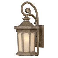 Hinkley Lighting Rowe Park 1 Light Outdoor Wall Lantern in Pearl Bronze 2134PZ-ES