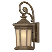 Hinkley Lighting Rowe Park 1 Light Outdoor Wall Lantern in Pearl Bronze 2134PZ-LED