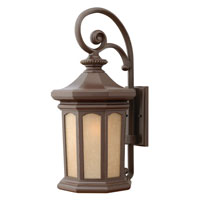 Hinkley Lighting Rowe Park 1 Light Outdoor Wall Lantern in Oil Rubbed Bronze 2135OZ