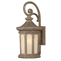 Hinkley Lighting Rowe Park 1 Light Outdoor Wall Lantern in Pearl Bronze 2135PZ-DS