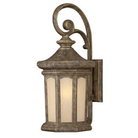 Hinkley Lighting Rowe Park 1 Light Outdoor Wall Lantern in Pearl Bronze 2135PZ photo thumbnail