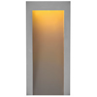 Hinkley 2144TG Taper LED 15 inch Textured Graphite Outdoor Wall Mount