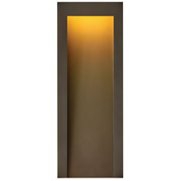 Hinkley 2145TR Taper LED 24 inch Textured Oil Rubbed Bronze Outdoor Wall Mount