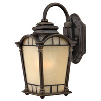 Hinkley Lighting Wellington 1 Light Outdoor Wall Lantern in Regency Bronze 2160RB photo thumbnail
