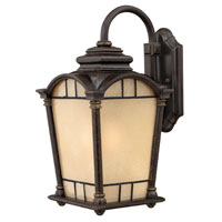 Hinkley Lighting Wellington 1 Light Outdoor Wall Lantern in Regency Bronze 2164RB-DS photo thumbnail