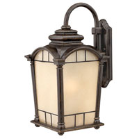 Hinkley Lighting Wellington 1 Light Outdoor Wall Lantern in Regency Bronze 2165RB-ESDS