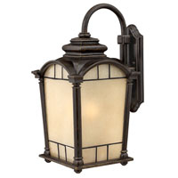 Hinkley Lighting Wellington 1 Light Outdoor Wall Lantern in Regency Bronze 2165RB