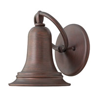 Hinkley Lighting Liberty 1 Light Outdoor Wall Lantern in Victorian Bronze 2170VZ-ES
