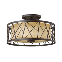 Hinkley Lighting Liberty 1 Light Outdoor Hanging Lantern in Sienna 2172SN-LED photo thumbnail