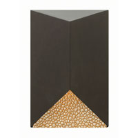 Vento 1 Light 9 inch Bronze Outdoor Wall in LED