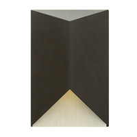 Vento 1 Light 9 inch Satin Black Outdoor Wall in GU10