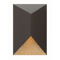 Hinkley Lighting Vento 1 Light Outdoor Wall in Bronze 2184BZ-LED