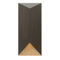 Vento 1 Light 18 inch Bronze Outdoor Wall in GU10
