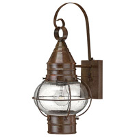 Hinkley 2200SZ Cape Cod 1 Light 18 inch Sienna Bronze Outdoor Wall Lantern in Incandescent photo thumbnail