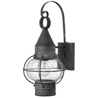 Hinkley Lighting Cape Cod 1 Light Outdoor Wall in Aged Zinc 2200DZ-LED
