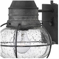 Hinkley 2200DZ Cape Cod 1 Light 18 inch Aged Zinc Outdoor Wall Mount in Incandescent alternative photo thumbnail