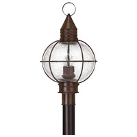 Hinkley 2201SZ Cape Cod 4 Light 24 inch Sienna Bronze Post Lantern in Incandescent, Post Sold Separately