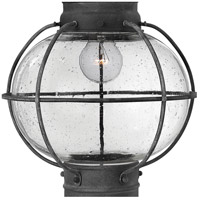 Hinkley 2202DZ Cape Cod 1 Light 11 inch Aged Zinc Outdoor Hanging Lantern alternative photo thumbnail