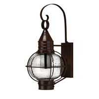 Hinkley Lighting Cape Cod 1 Light Outdoor Wall Lantern in Sienna Bronze 2204SZ-ESDS photo thumbnail