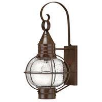 Hinkley Lighting Cape Cod 1 Light Outdoor Wall Lantern in Sienna Bronze 2204SZ photo thumbnail