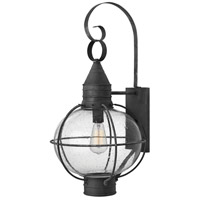 Hinkley Lighting Cape Cod 1 Light Outdoor Wall in Aged Zinc 2205DZ-LED
