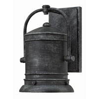 Pullman 1 Light 11 inch Greystone Outdoor Wall in GU24