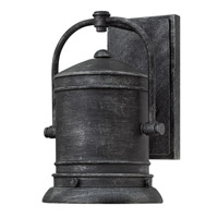 Pullman 1 Light 11 inch Greystone Outdoor Wall Lantern in LED