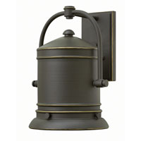 Hinkley Lighting Pullman 1 Light Outdoor Wall in Oil Rubbed Bronze 2214OZ-LED2
